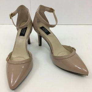 Jones New York Signature Nude Strappy Pointed Toe